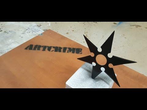 Artcrime #11 - DIY - SHURIKEN