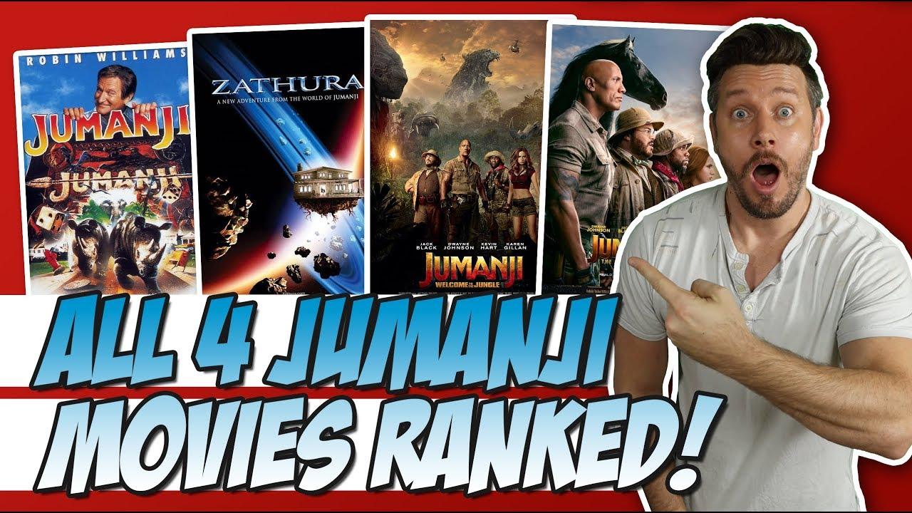 Download All 4 Jumanji Films Ranked!