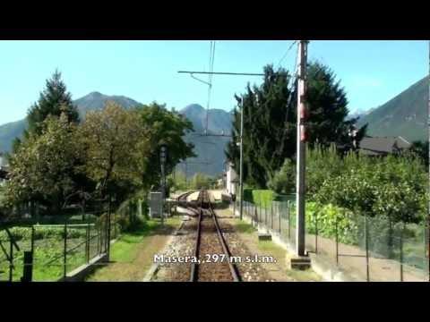 Centovalli railway Centovallibahn Centovallina チェントヴァッリ鉄道
