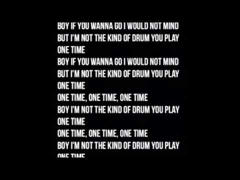 Marian Hill - One Time - LYRICS