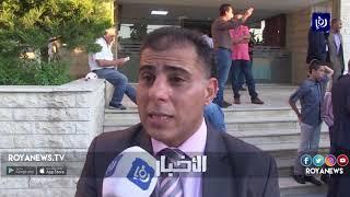 مهندسون ينفذون وقفة احتجاجا على نقل سفارة واشنطن إلى القدس المحتلة وضد انتهاكات الاحتلال