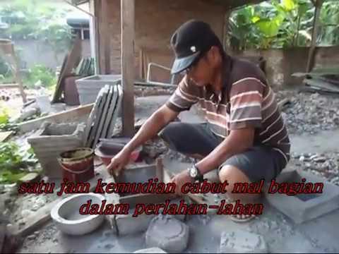 cara mudah membuat pot bunga minimalis - YouTube 660cf13729