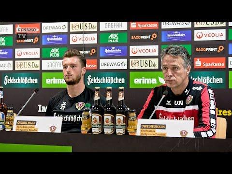 14. Spieltag | KSV - SGD | Pressekonferenz vor dem Spiel