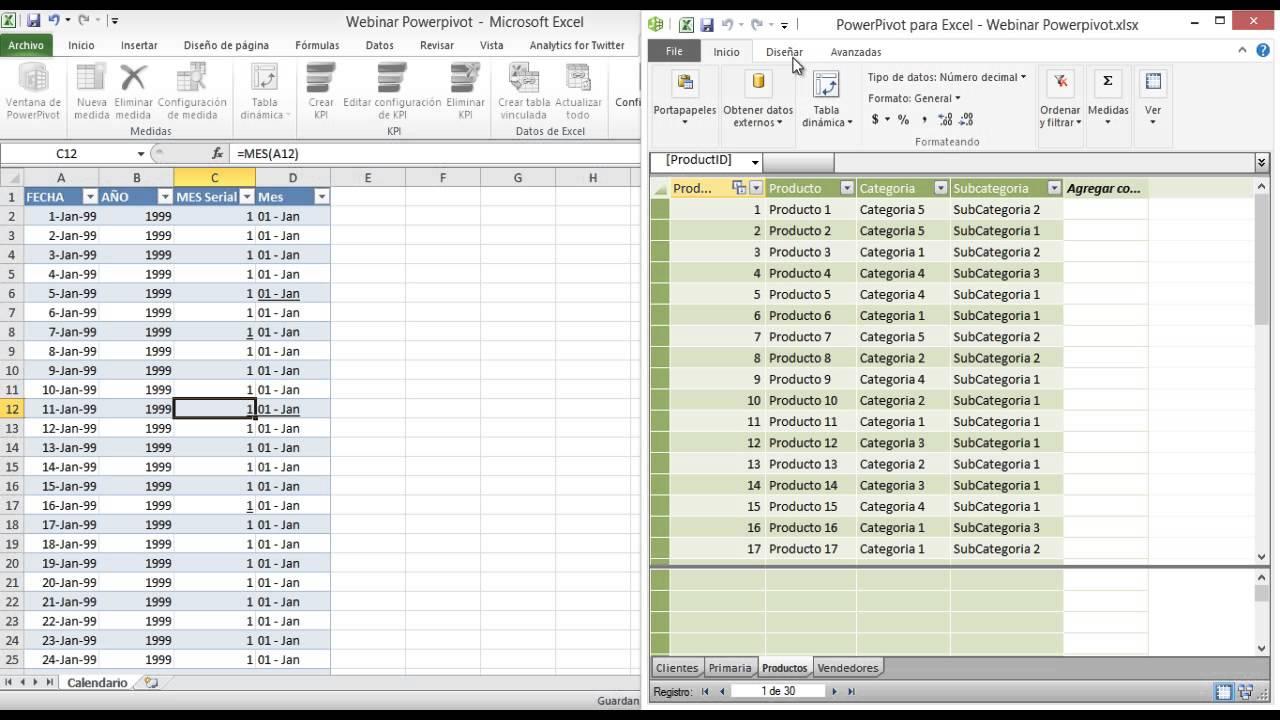 Pivot Tables: Traditional vs Using Powerpivot