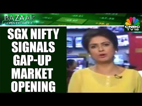SGX Nifty Signals Gap-Up Market Opening | Bazaar Open Exchange | CNBC TV18
