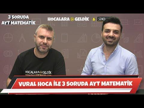 VURAL HOCA İLE 3 SORUDA AYT MATEMATİK