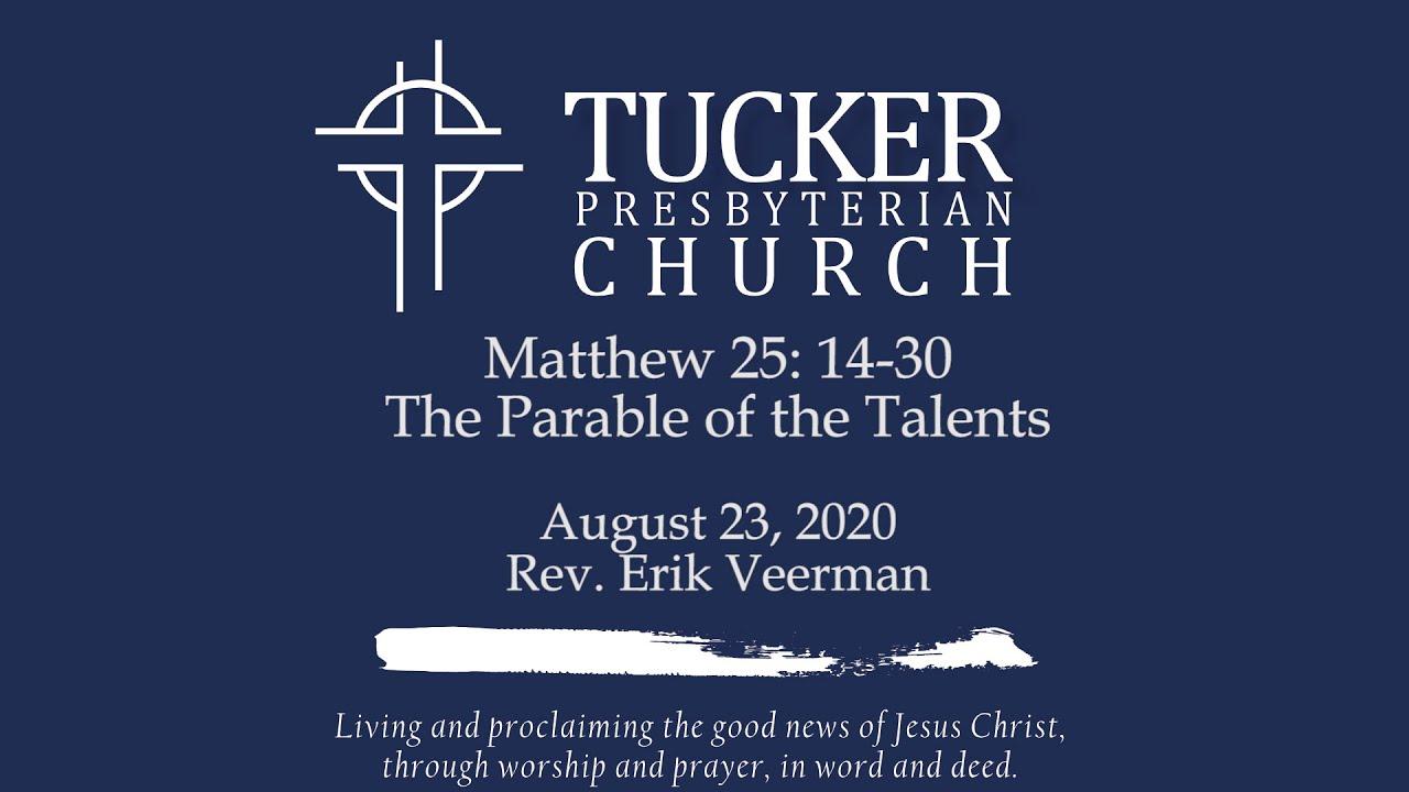 Parable of the Talents (Matt 25:14-30)
