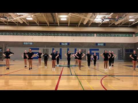 SW Drill Tryouts 2018 | Dance w/ Music