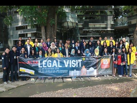 ALSA LC UNIV. JEMBER LEGAL VISIT 2015