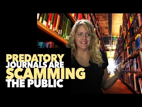 Predatory Publishers (Fake Science Journals) Suck!