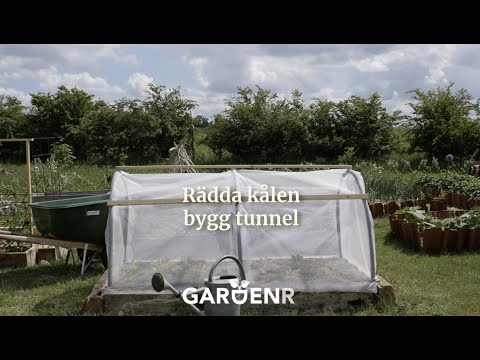 Bygg en odlingstunnel