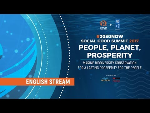 ENGLISH LIVESTREAM: Social Good Summit Jakarta 2017