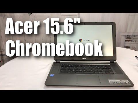 Acer 15 6 Chromebook Celeron N3060 Dual Core 1 6ghz 2gb Ram 16gb