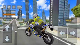 Juego de Motos  - Simulador de Motos Policias 3D - Videos Para Niños