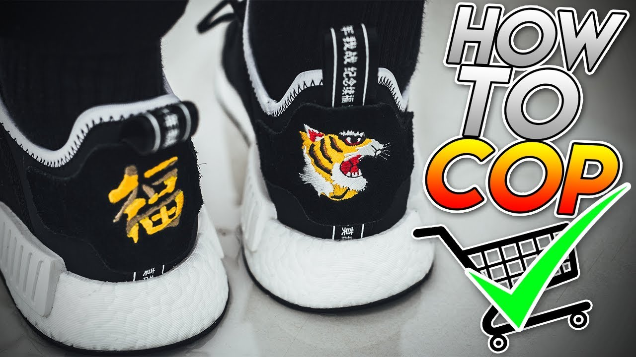 025ee62a2 How To Cop The INVINCIBLE x NEIGHBORHOOD x Adidas NMD R1 For RETAIL! (  EXCLUSIVE RELEASE )