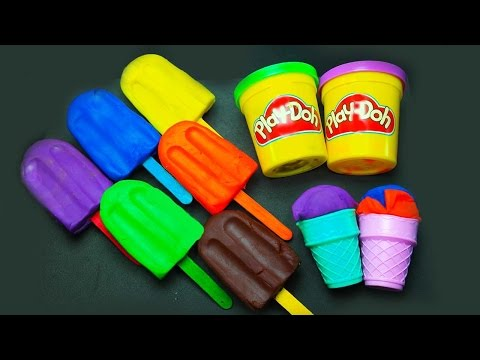 Thumbnail: Play Doh Ice cream shop cupcakes playset playdough surprise and more