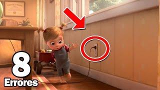 10 Errores más Increíbles de la Película Intensamente