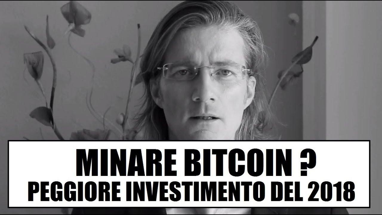 peggior investimento bitcoin