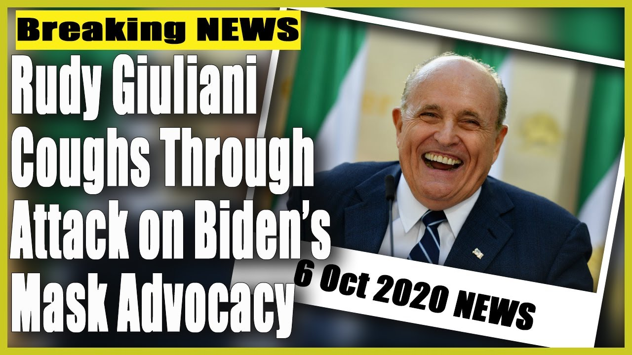 Rudy Giuliani can't stop coughing while attacking Biden on Fox ...