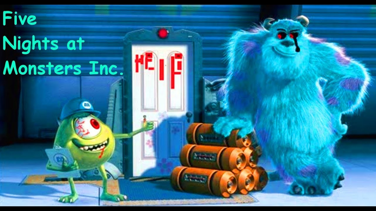 was ist das denn five nights at monsters inc let s play fnaf