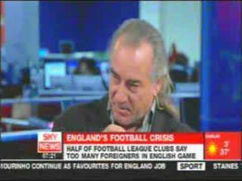 Ex Player losing it over English Football