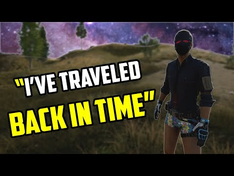 Time Traveler On PUBG - Funny Voice Chat