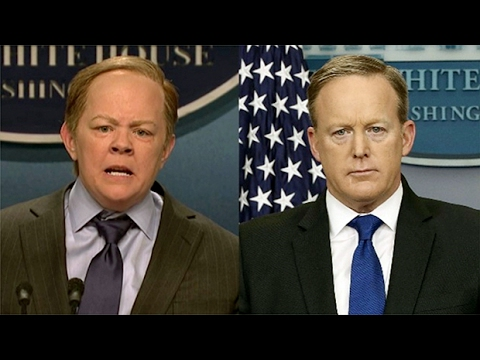 Sean Spicer responds to Melissa McCarthy's SNL performance