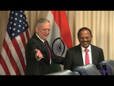 SecDef Meets India