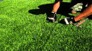 How to Seam Artificial Grass - Brought to you by SGW