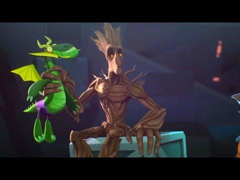 Ракета и Грут  - Серия 11, Отчаянные меры  - короткая анимация Marvel