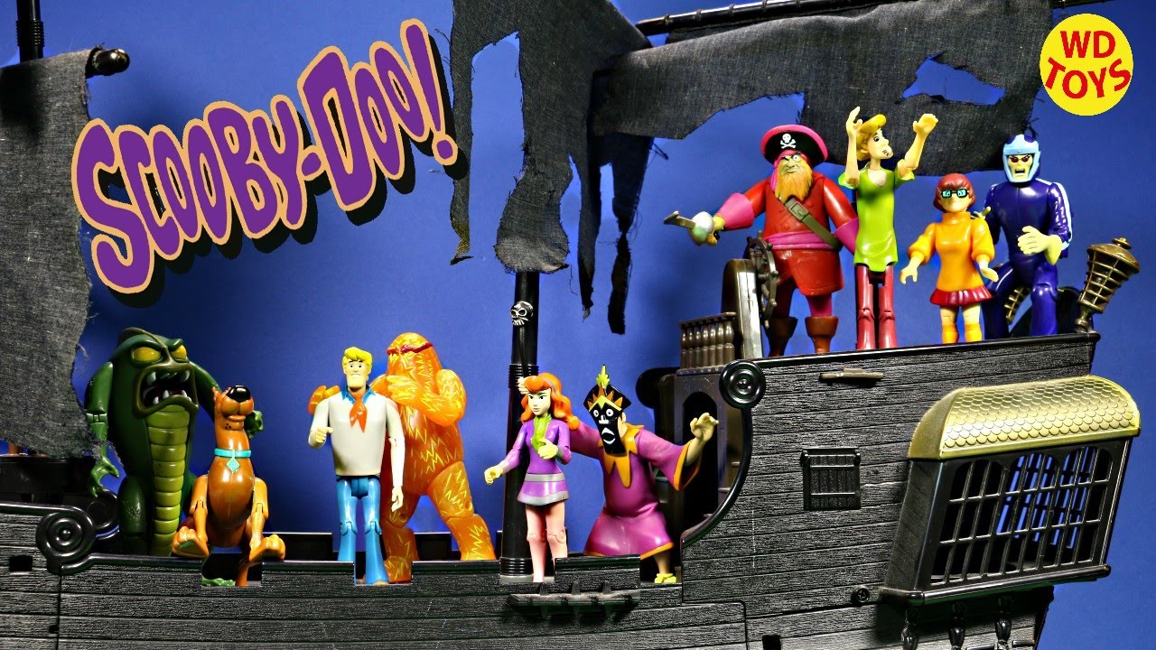 Scooby Doo Friends Amp Foes Action Figure Collection Scooby