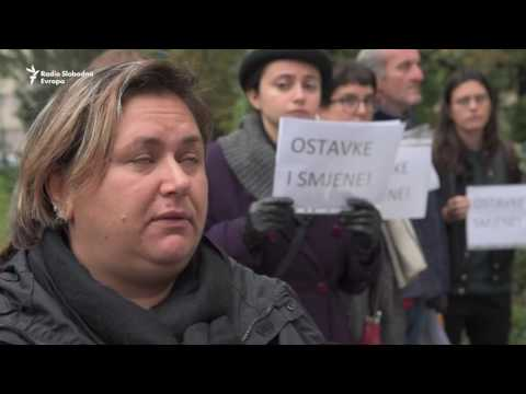 Sarajevo: Protest zbog smrti dvije studentice