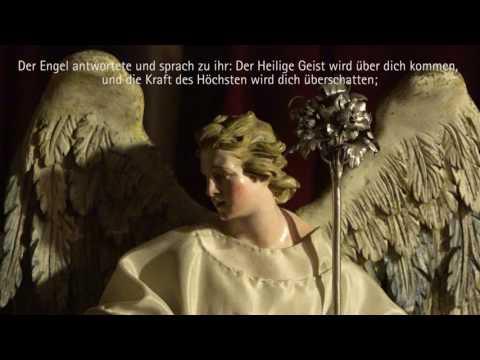 Aus der Lutherbibel (2017): Zum 2. Advent. Der Engel bei Maria