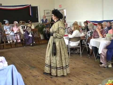 The Elgin Red Brick School Historical Character and Fashion Show