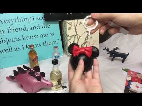 Kate Spade ☜UNBOXING☞ Minnie Mouse Keychain