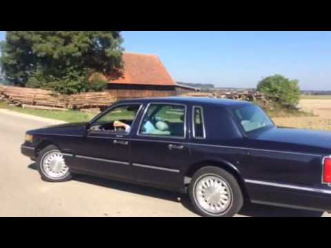 1997 Lincoln Town Car Accelerating Youtube