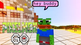 FRIENDS OR FOES? THESE PEOPLE ARE WEIRD! | Pixelmon Go (Pokemon in Minecraft) S2 #12