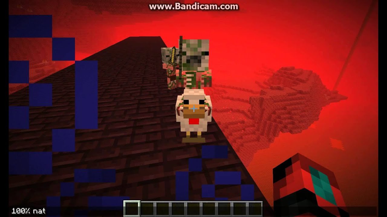 Minecraft: Zombie Pigman Chicken Jockey