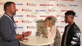 Monaco matin - olivia holt & aubrey joseph (monte-carlo television festival)