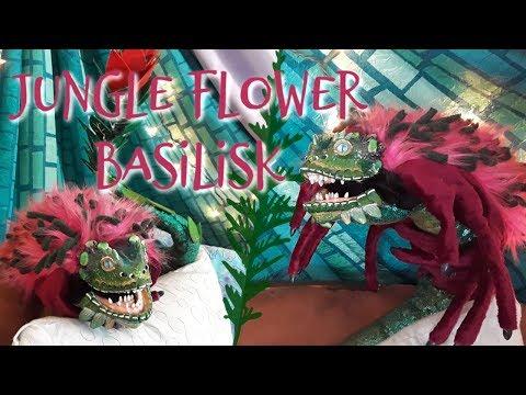 Jungle Flower Basilisk || Posable ArtDoll Tutorial