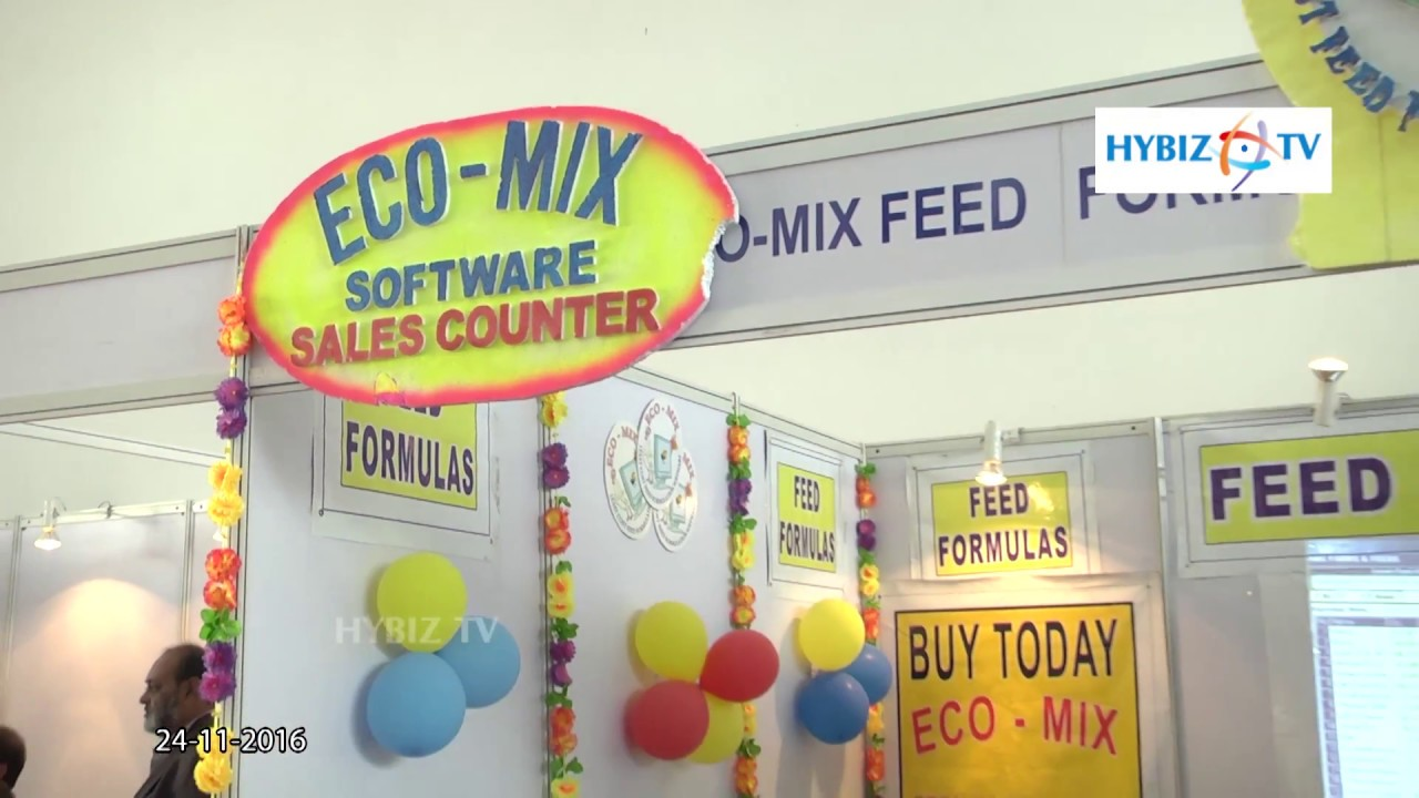 Eco Mix Feed Formulation Software | Poultry India 2016 - hybiz