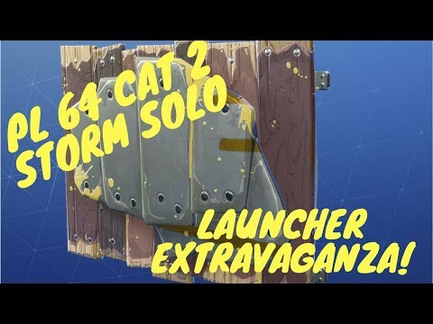 Category 2 Storm Solo: Launcher Extravaganza!