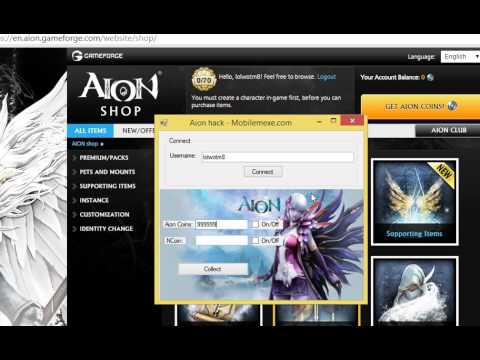 Aion Unlimited Aion Coins Trick Youtube