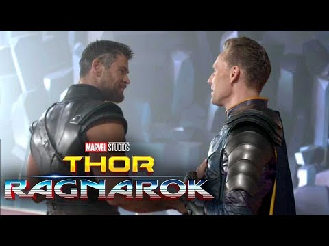 'Thor: Ragnarok' Behind-the-Scenes First Look! Chris Hemsworth and Tom Hiddleston Reunite