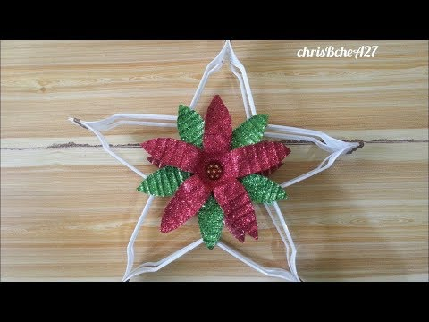 DIY# 71 Christmas Lantern / Parol Made Of Recycled Plastic Fork #1