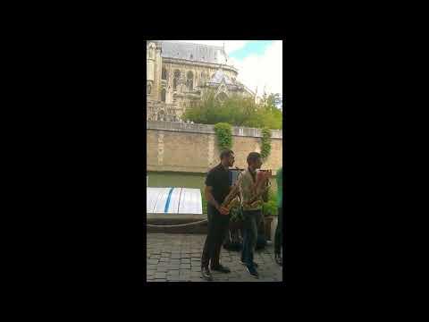 Le GOPB sur les quais de Seine en mai 2017