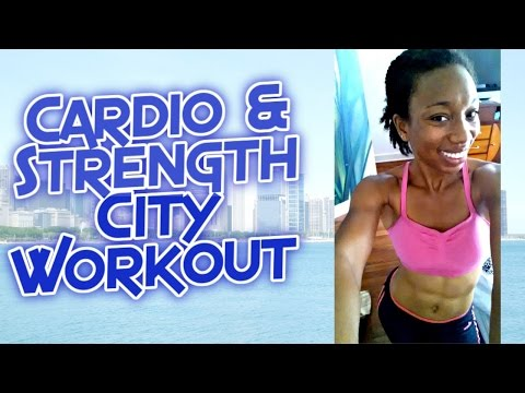 Cardio/Strength City Workout (NEW BUTT EXERCISES)