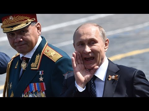 """Russian Army Choir """"We Are the Army of the People"""" - Victory Day Parade on Moscow's Red Square 2015"""