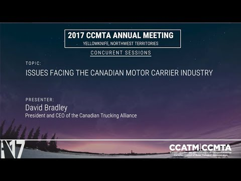 Issues facing the Canadian motor carrier industry