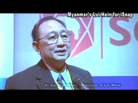 Myanmar's Loi Hein for iSnap:Dr.Sai Sam Htun